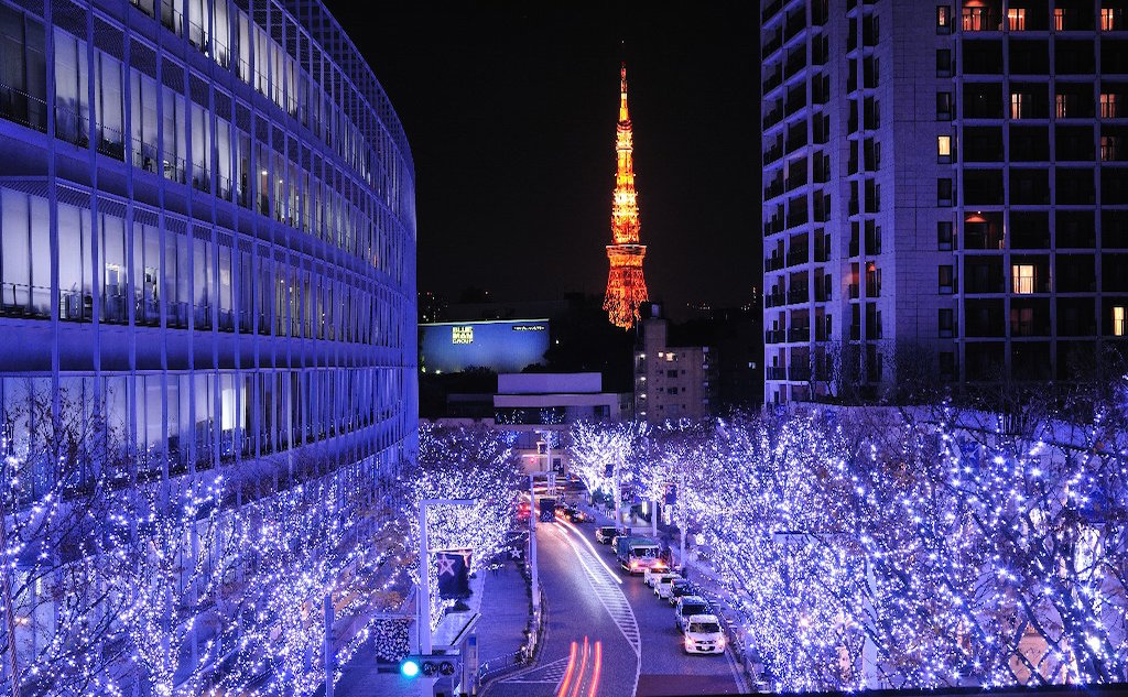 The best 5 of lovely Christmas Lights in Tokyo