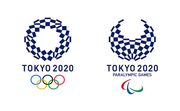 Tokyo officially unveiled the 2020 Olympics logo_1