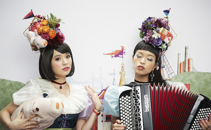 Two Japanese sisters, CHARAN-PO-RANTAN, set new music genre