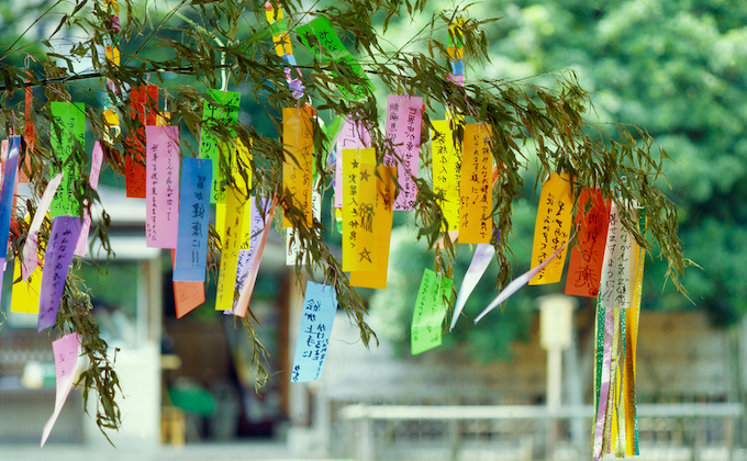 Annual summer event, Tanabata, filled with wishes_1